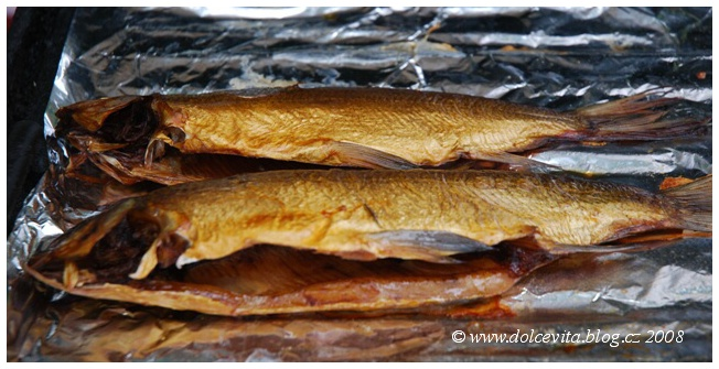 ryby uzené