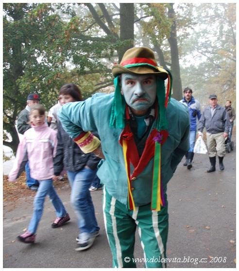 Každý rybník má svého vodníka. Tohle je zelený mužík z Rožberka.