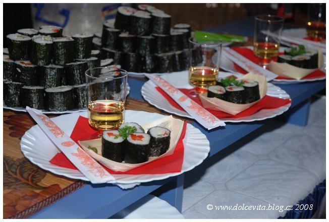 japonská restaurace sushi
