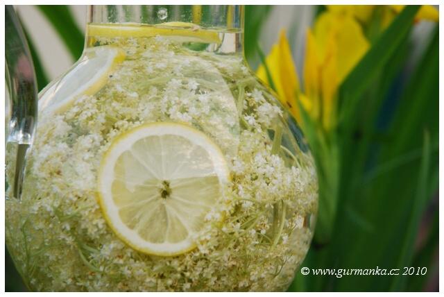 bezová limonáda