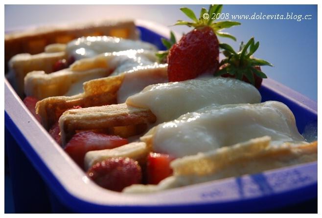 pudink vafle jahody1