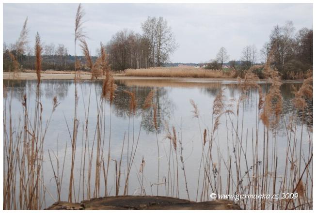rybník u Cikaru