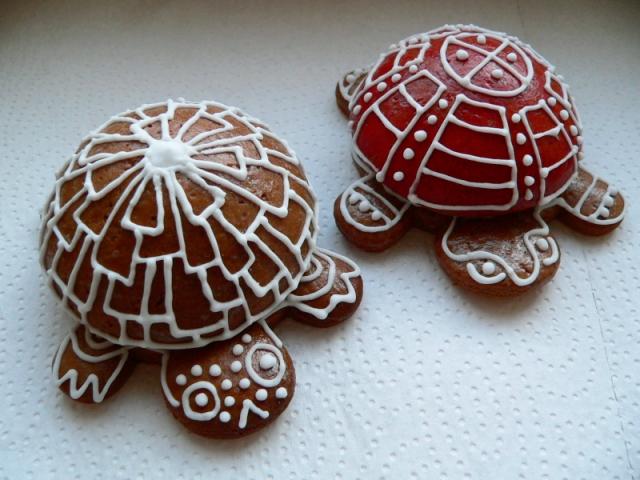 želva z perníku