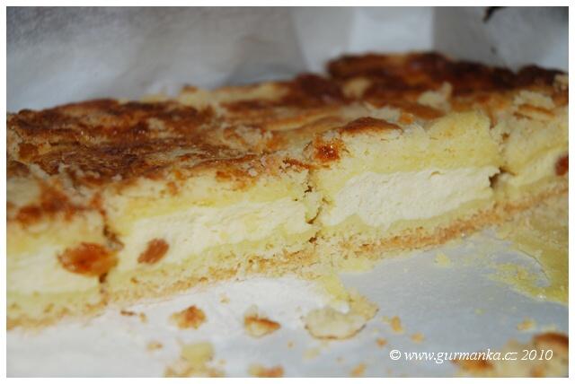 tvarohový koláč sypaný 3