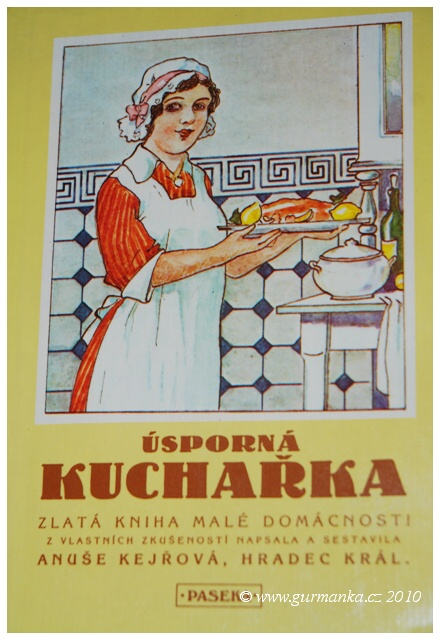 Anuše Kejřová - Úsporná kuchařka - Zlatá kniha malé domácnosti