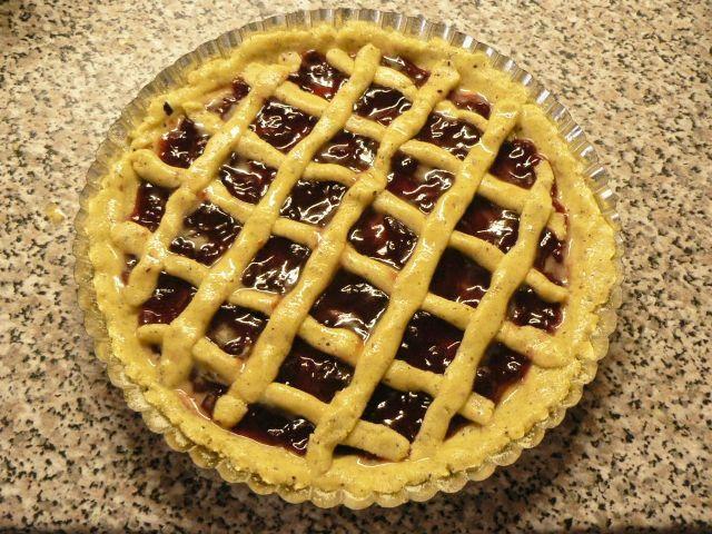 f4 ořechový koláč