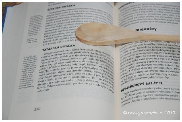 tatarská omáčka - recept podle Anuše Kejřové