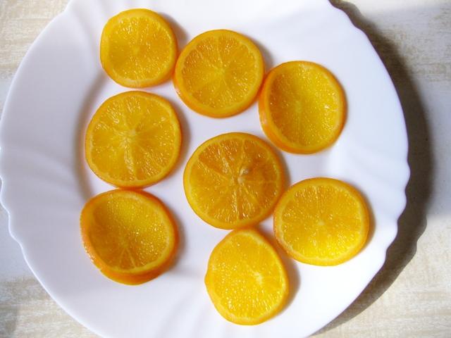 glazovane pomerance