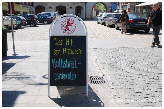 Nabidka restaurace Nepomuck v Dornachu