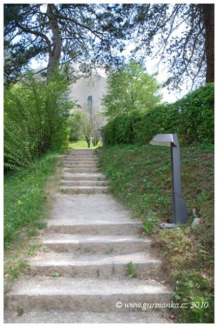 Svycarsko Dornach, cesta ke Goetheanu
