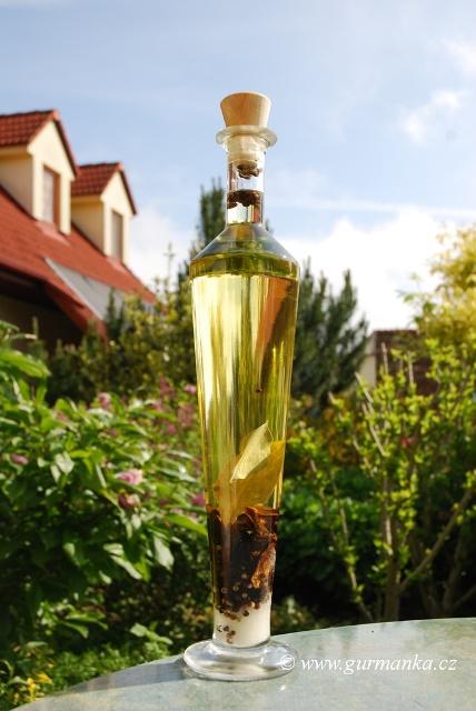 domácí houbový olej
