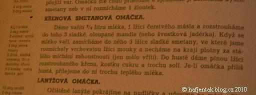 recept na omacku