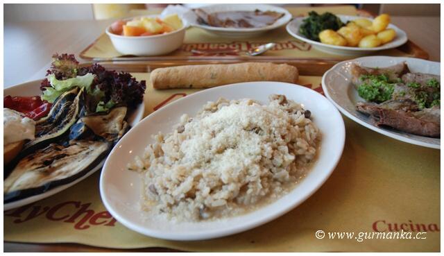Itálie - cestování - stravování - jídlo