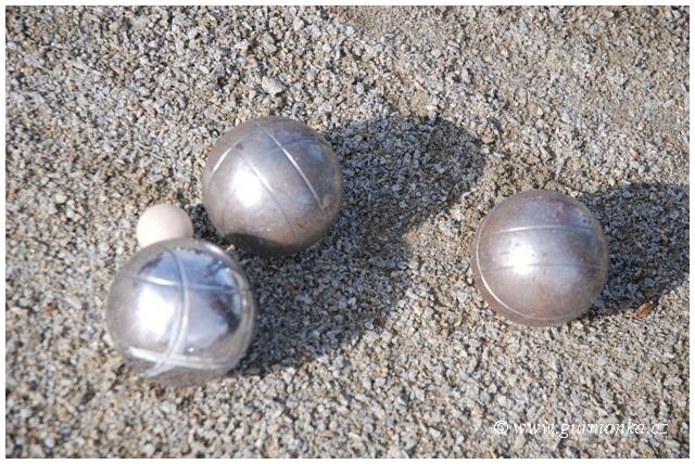 koule a košonek - petanque