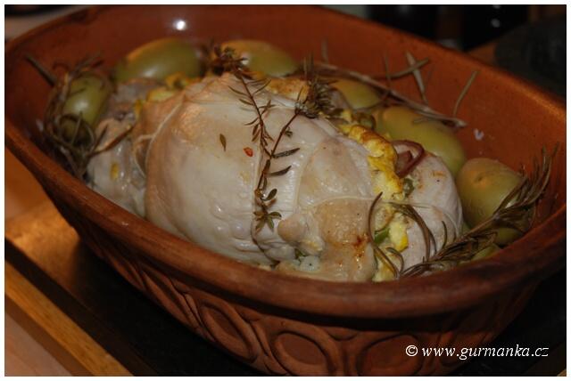 """""""pečené kuře v římském hrnci"""""""
