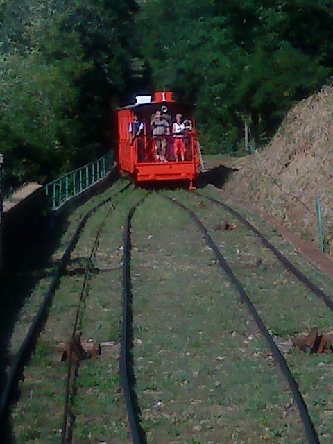 Toskánsko - lanovkou na Montecatini Alto