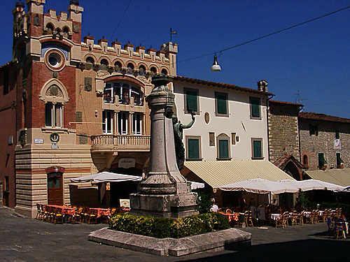 Toskánsko - Montecatini Alto
