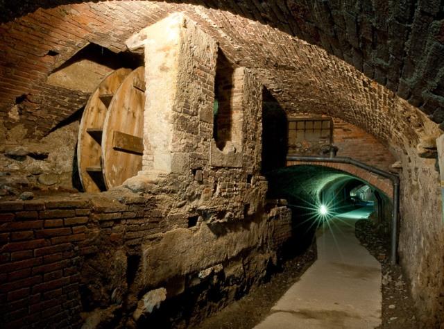 Toskánsko - Pistoia - katakomby