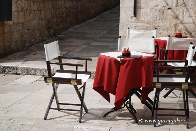 """""""kavárna v Dubrovniku"""""""