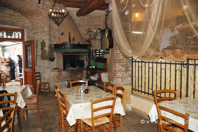 """""""obrázky z Chorvatksa - restaurace Rovinj"""""""