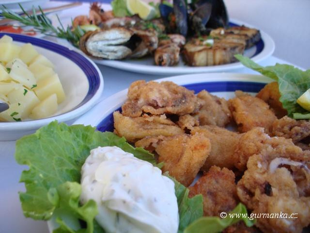 """""""jadranské ryby a mořské plody"""""""