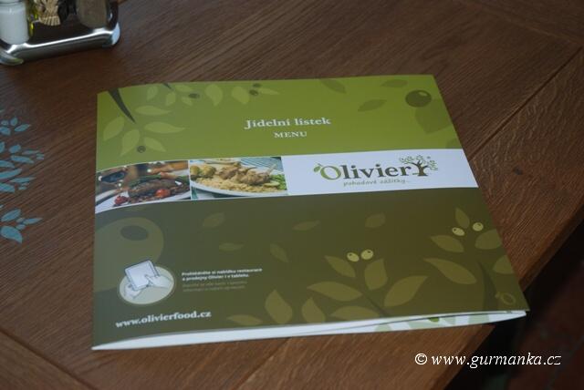 """""""středomořská kuchyně v restauraci Olivier v Českých Budějovicích"""""""