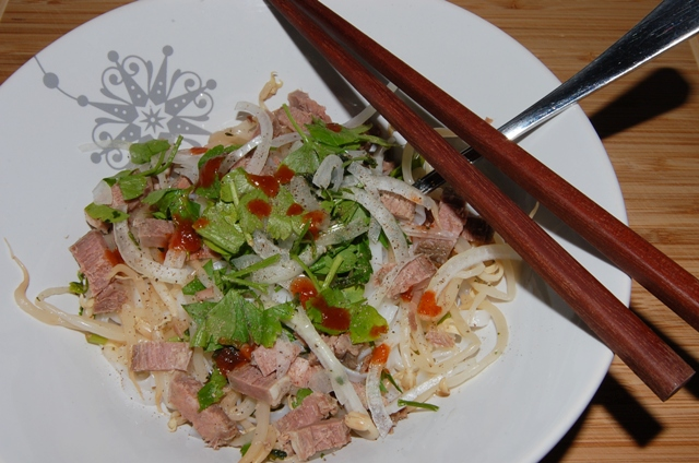 """vietnamská polévka Pho Bó"""