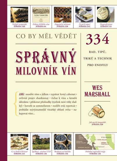 """kniha o víně - Wes Marshall"""