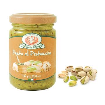 Pistáciové pesto - Pesto al Pistacchio - Pistácie z Bronte