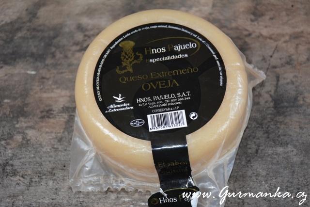 Ovčí sýr středně vyzrálý - Extramadura Španělsko