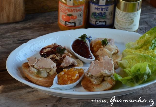 Křepelka plněná foie gras4