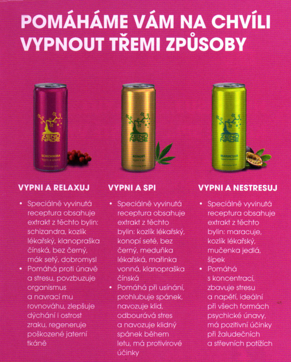 ZENONADE Anti-Energy drink