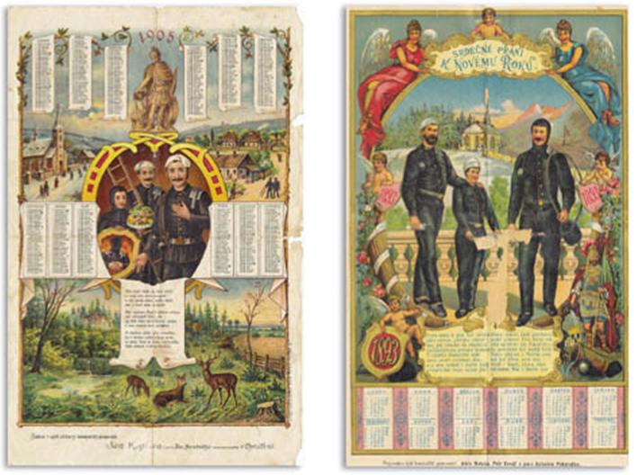 Kominický kalendáře budí zájem ve sběratelských kruzích